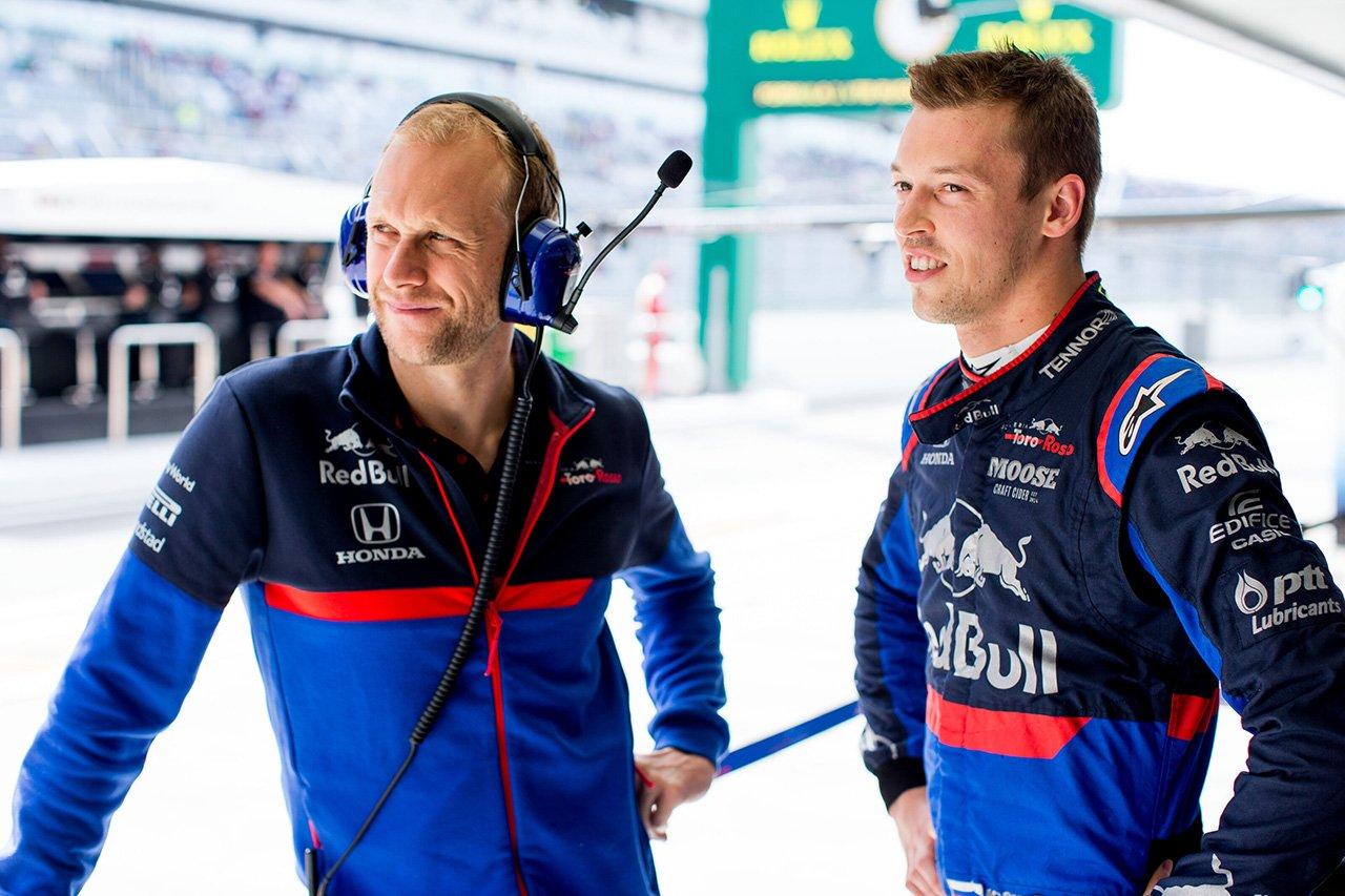 ダニール・クビアト 「まだこのレースウイークを諦めたわけではない」 / トロロッソ・ホンダ F1ロシアGP予選