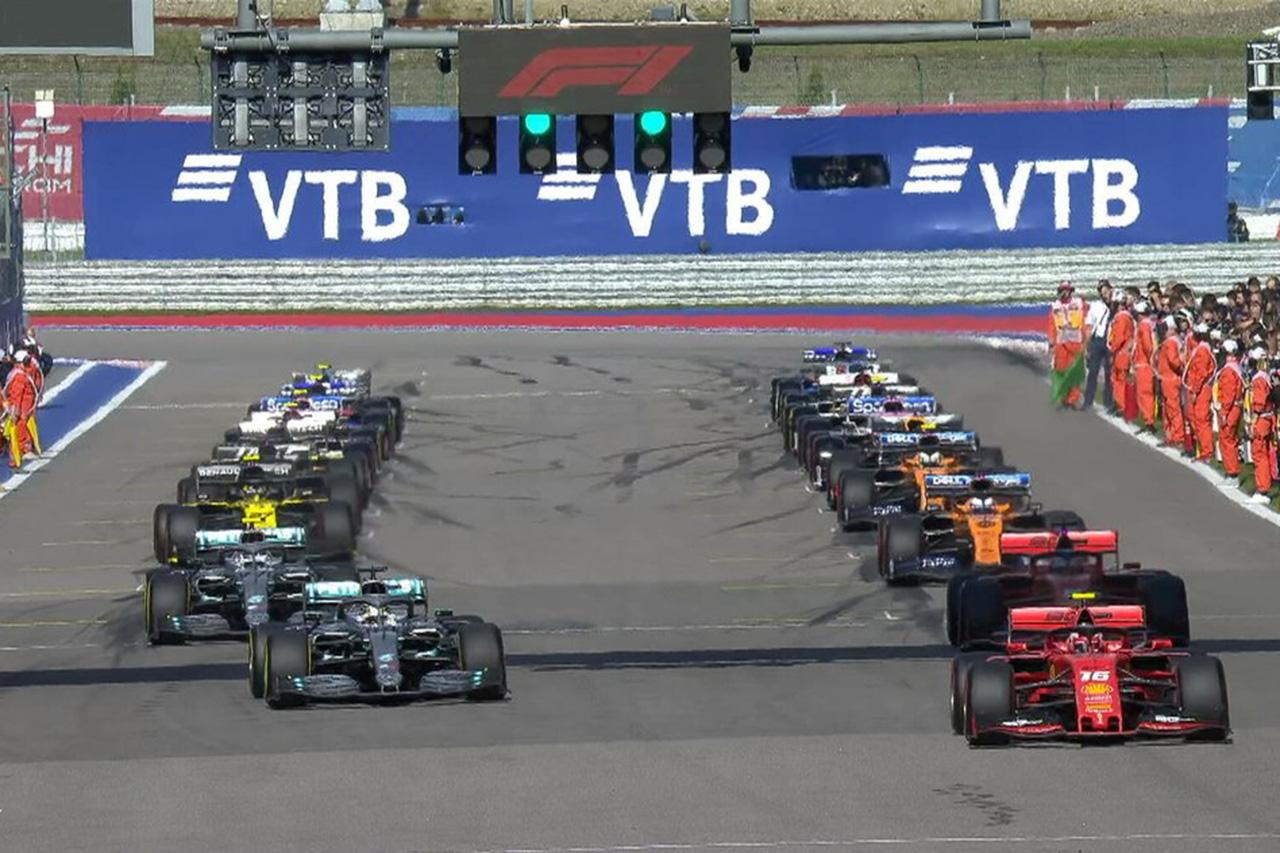 【速報】 F1ロシアGP 決勝 結果:ルイス・ハミルトンが優勝、フェルスタッペン4位&アルボン5位