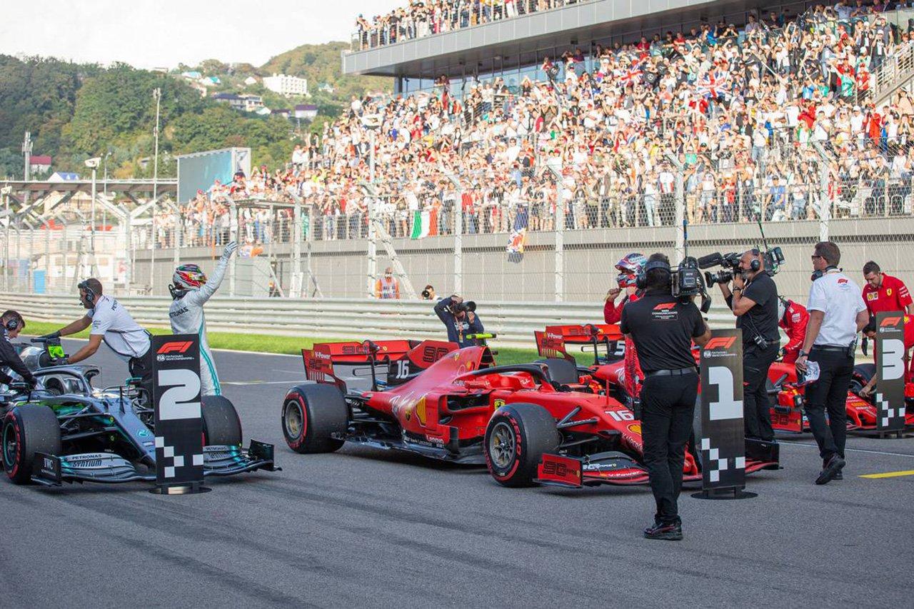 2019年 F1ロシアGP 決勝