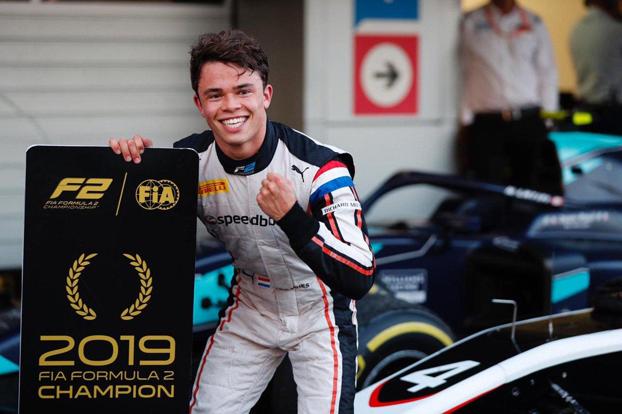【F2】 ニック・デ・ブリースが2019年のチャンピオンを獲得