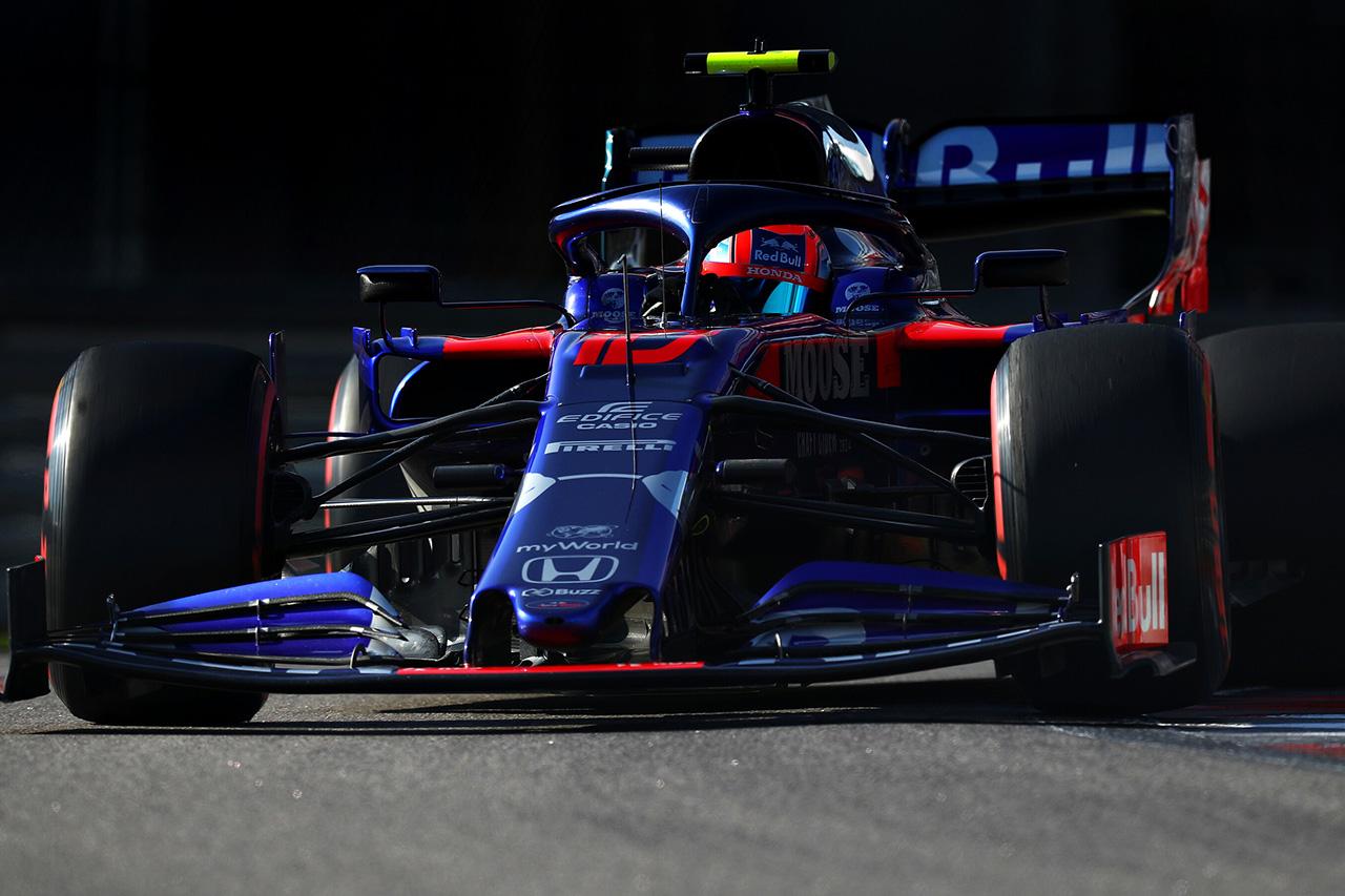 トロロッソ・ホンダ 「複雑な心境。ポイント獲得のためにベストを尽くす」 / F1ロシアGP予選