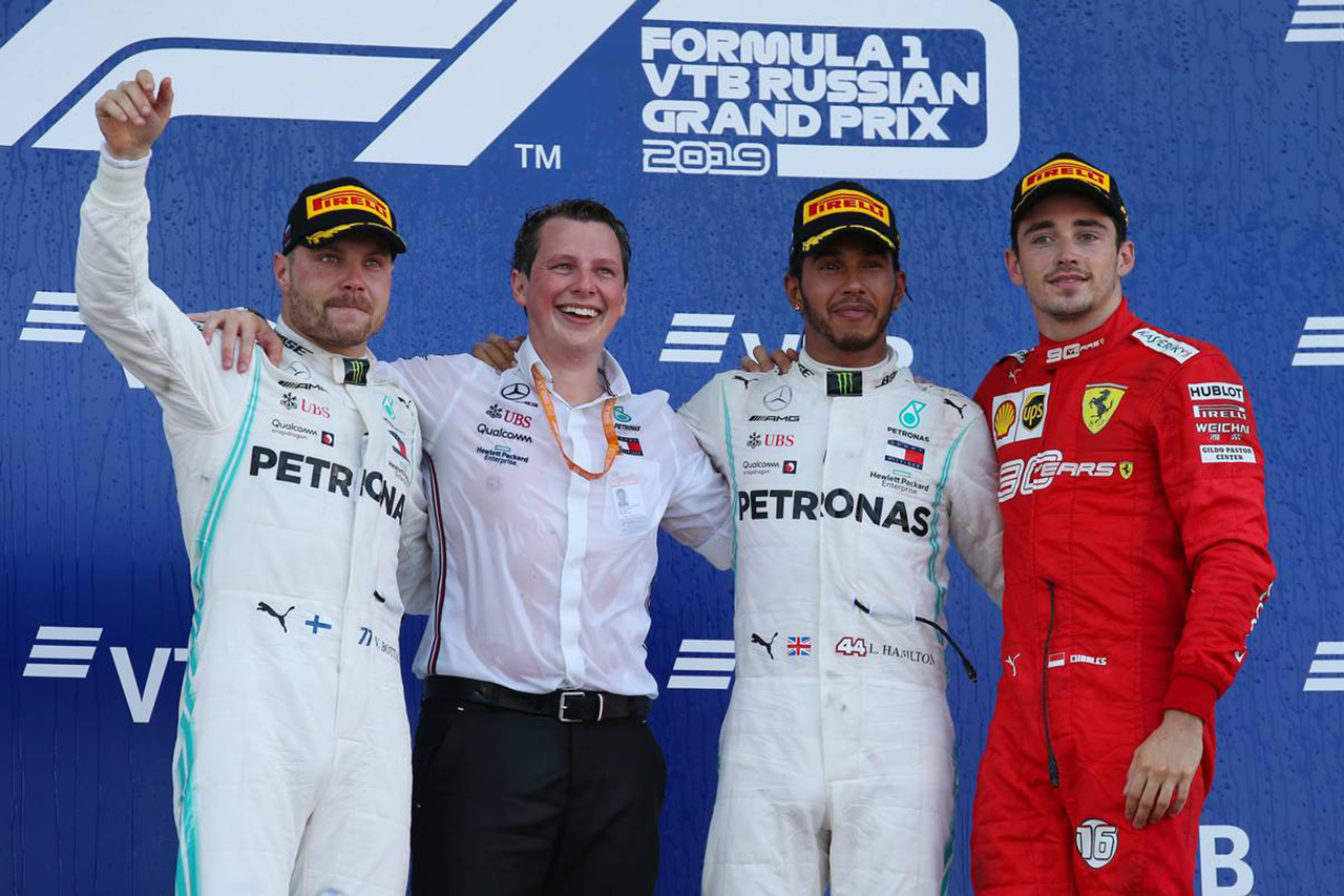 F1 ロシアGP 決勝