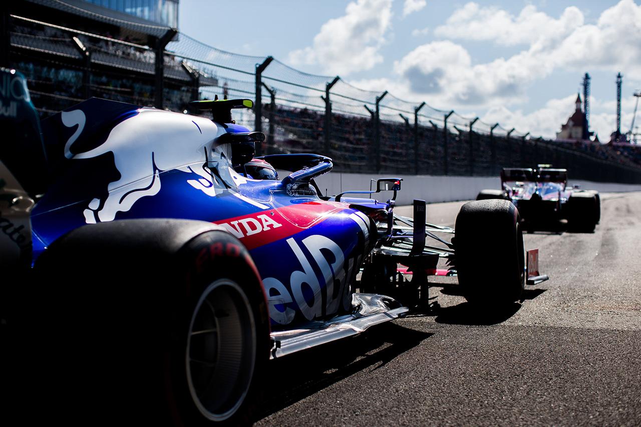 トロロッソ・ホンダ 「ポイント圏外でのフィニッシュはやや期待外れ」 / F1ロシアGP