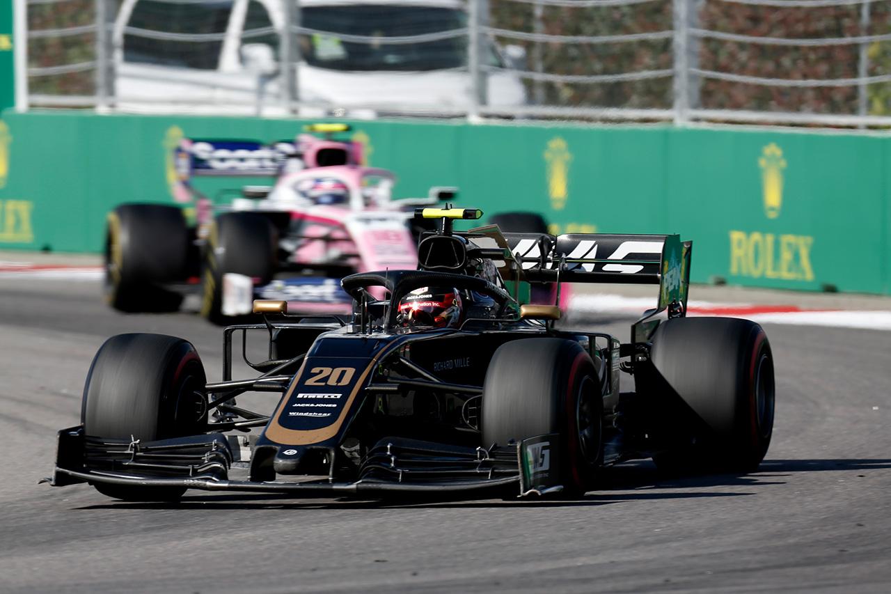 ハースF1チーム、マグヌッセンが5秒加算も9位 / F1ロシアGP