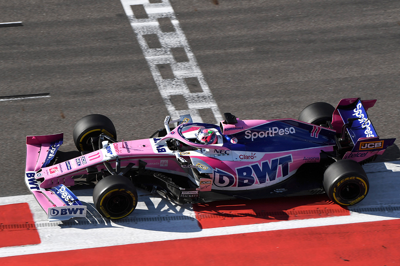 レーシングポイント、セルジオ・ペレスが7位入賞 / F1ロシアGP
