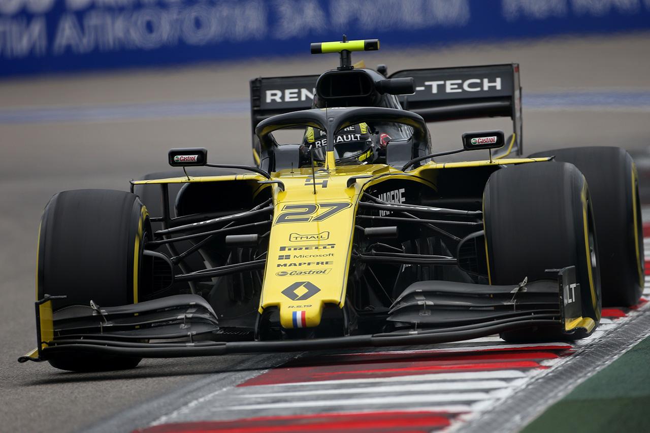 ルノーF1チーム、ニコ・ヒュルケンベルグが1ポイント獲得 / F1ロシアGP