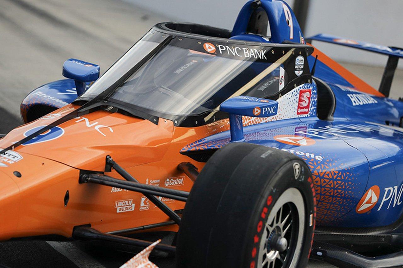 インディカー、エアロスクリーンの初走行テストを完了