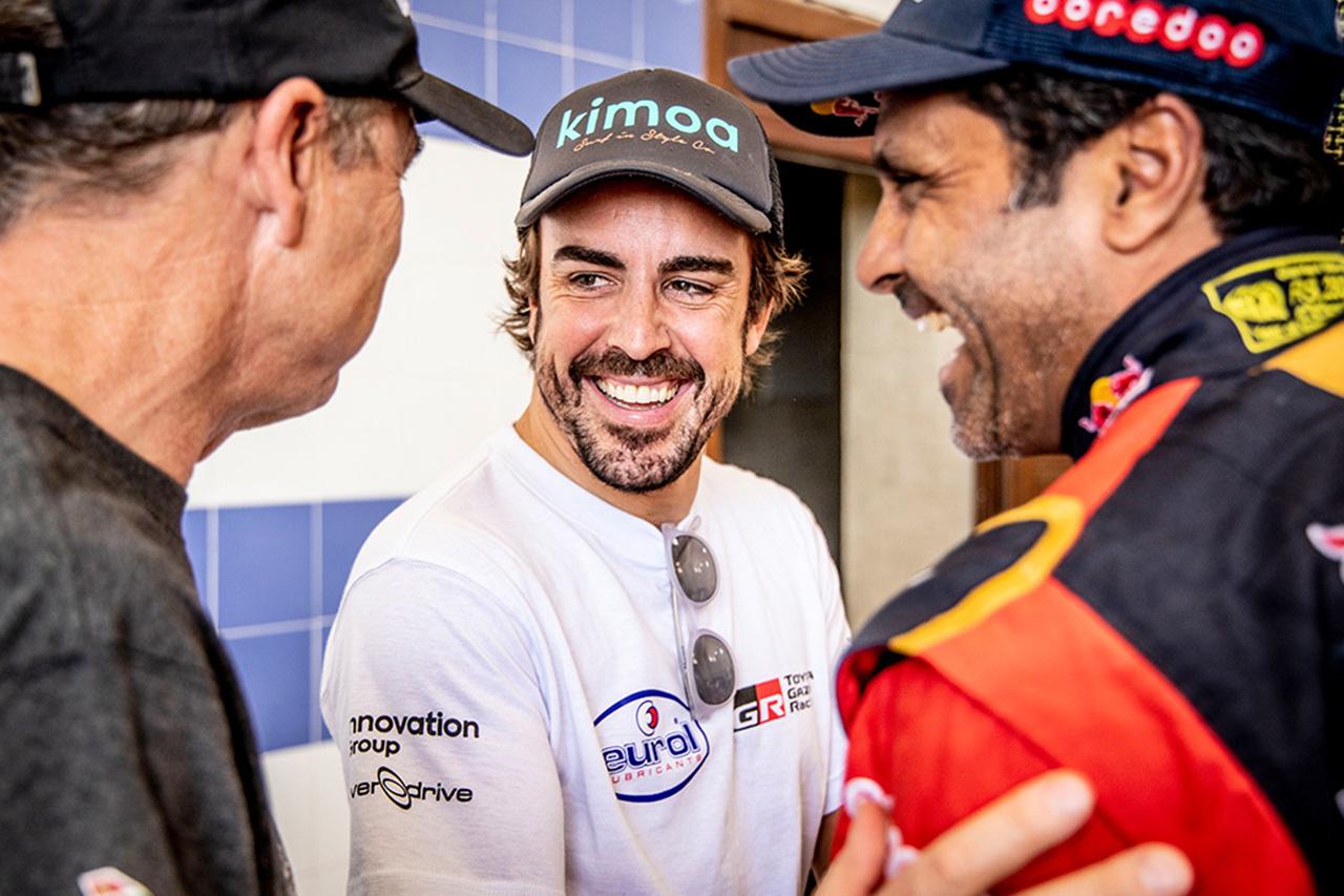 フェルナンド・アロンソ、トヨタからラリー・モロッコに参戦