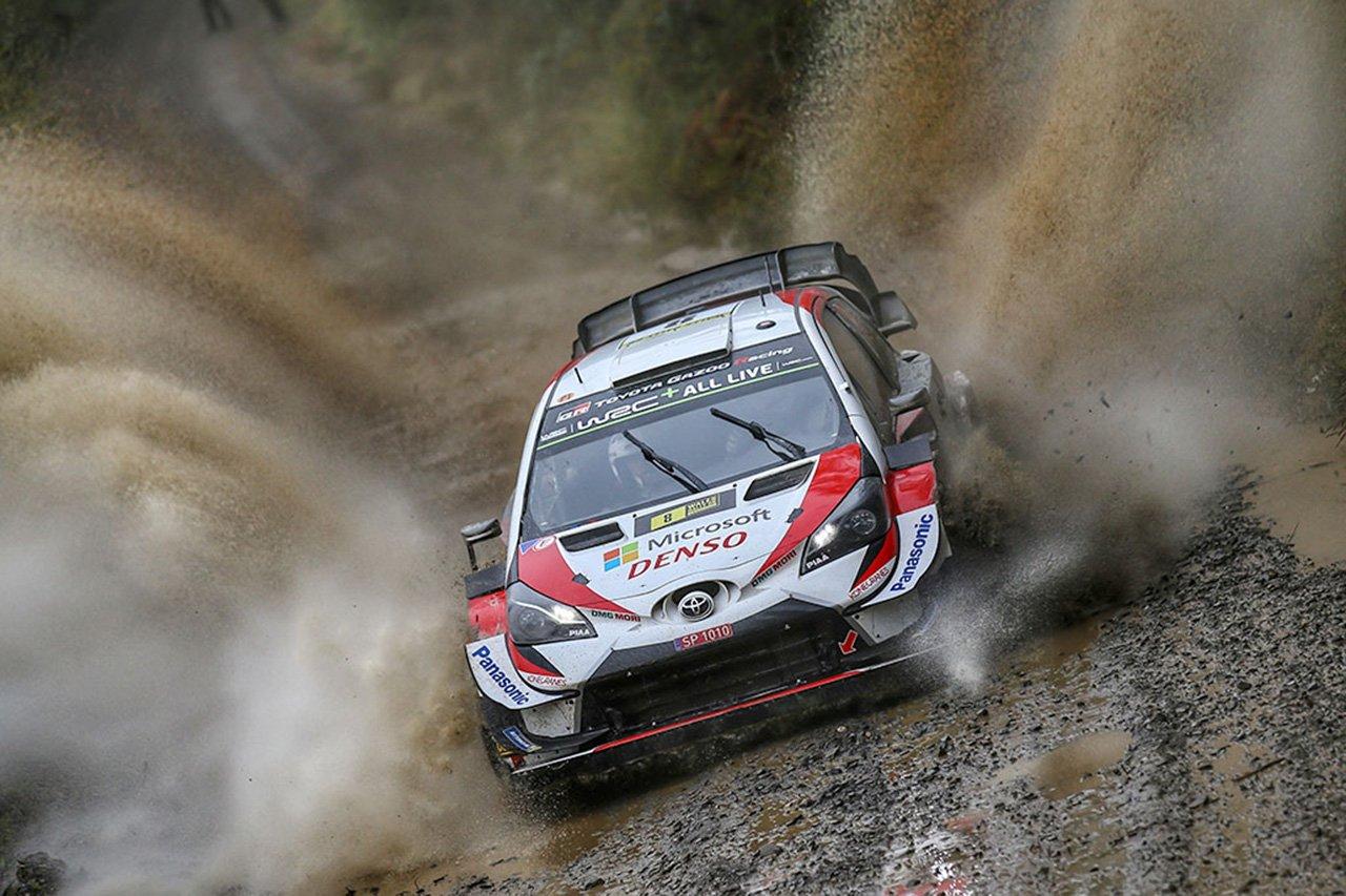 WRC 第12戦 ラリー・グレートブリテン:3日目を終えてタナックが首位