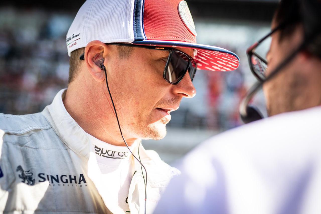 キミ・ライコネン 「鈴鹿は好きなトラック。日本のファンは素晴らしい」 / アルファロメオ・レーシング F1日本GP プレビュー