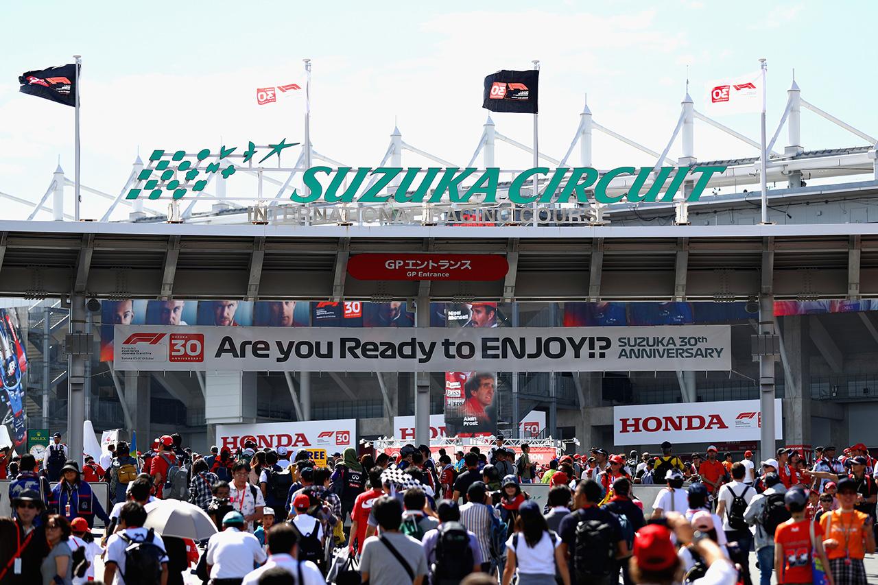 2019年 F1日本GP:11日(金)のゲートオープンまでは予定通りに進行