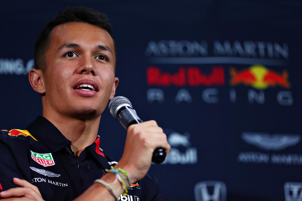 アレクサンダー・アルボン 「日本のファンの応援は後押しになる」 / レッドブル・ホンダ F1日本GP
