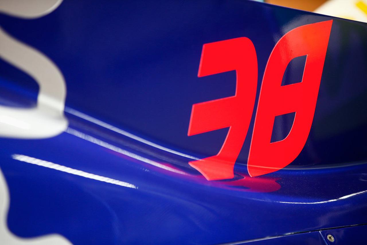山本尚貴 2019年F1日本グランプリ カーナンバー38