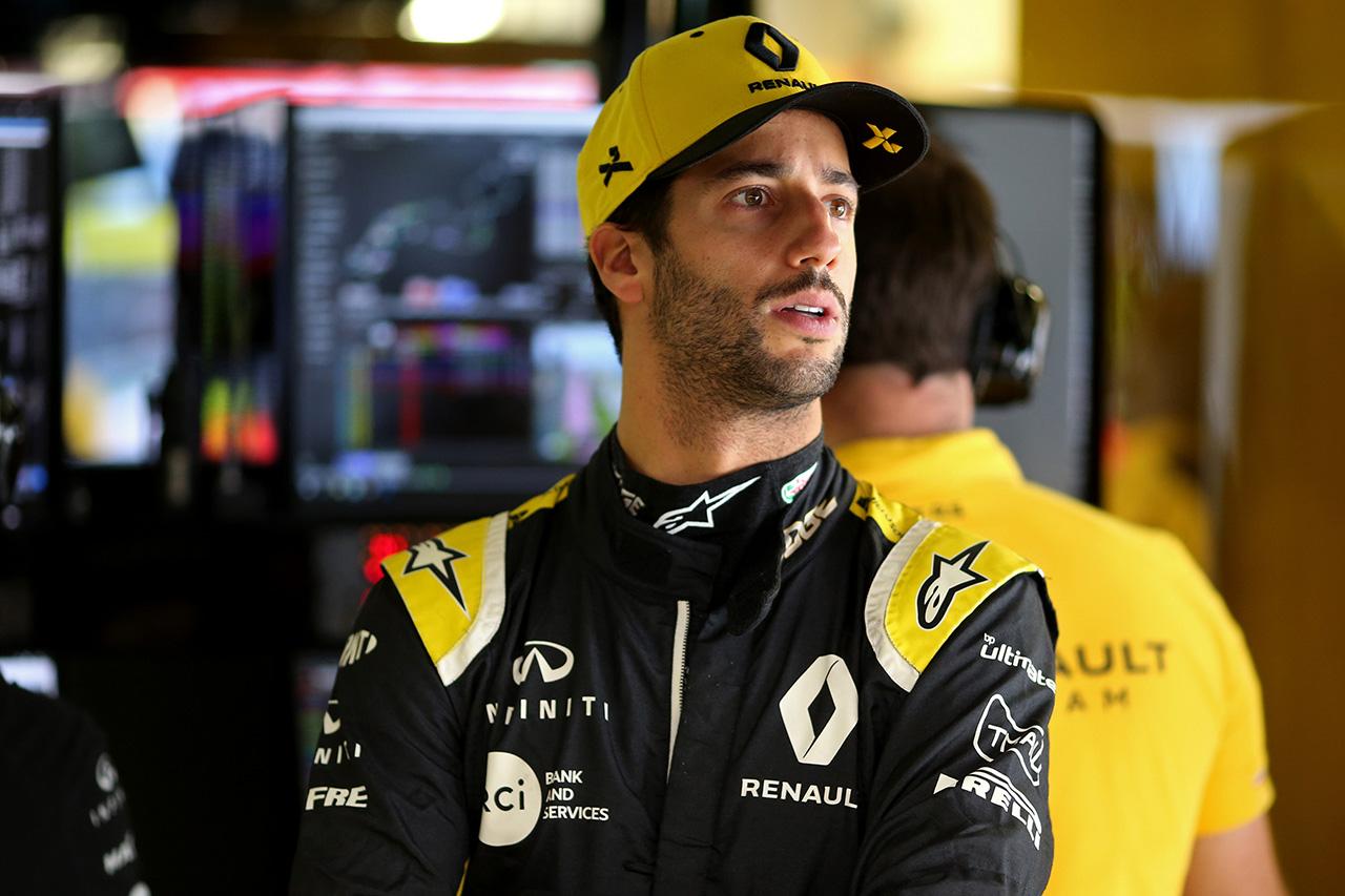 ダニエル・リカルド 「鈴鹿のラップはまるでジェットコースター」 / ルノー F1日本GP プレビュー