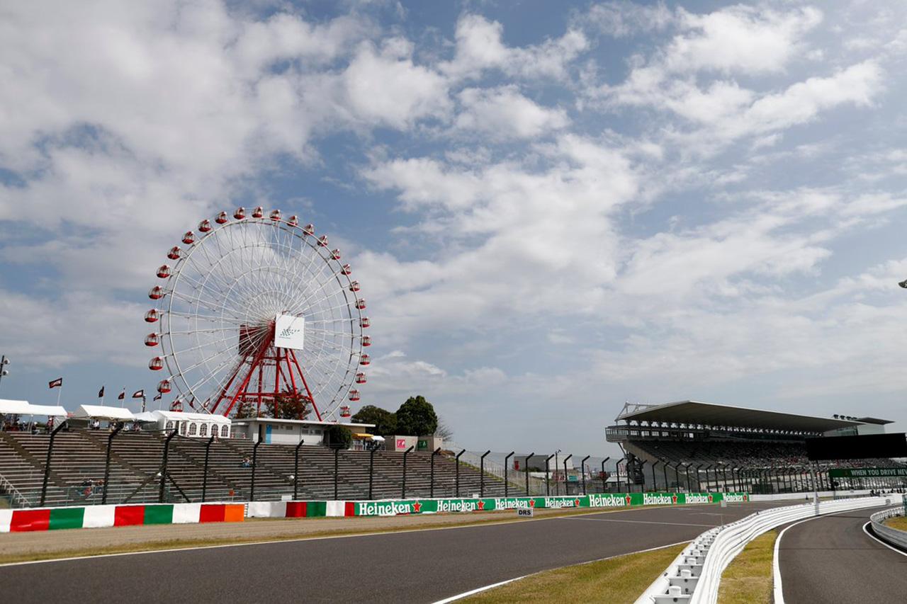 2019年 F1日本GP テレビ放送時間&タイムスケジュール