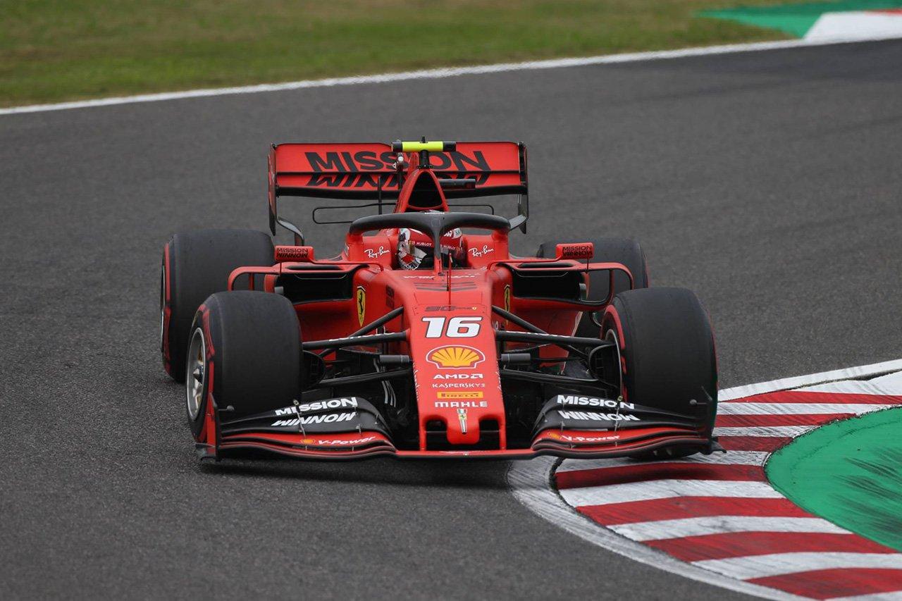 シャルル・ルクレール、鈴鹿でのペース不足に戸惑い / フェラーリ F1日本GP 金曜フリー走行