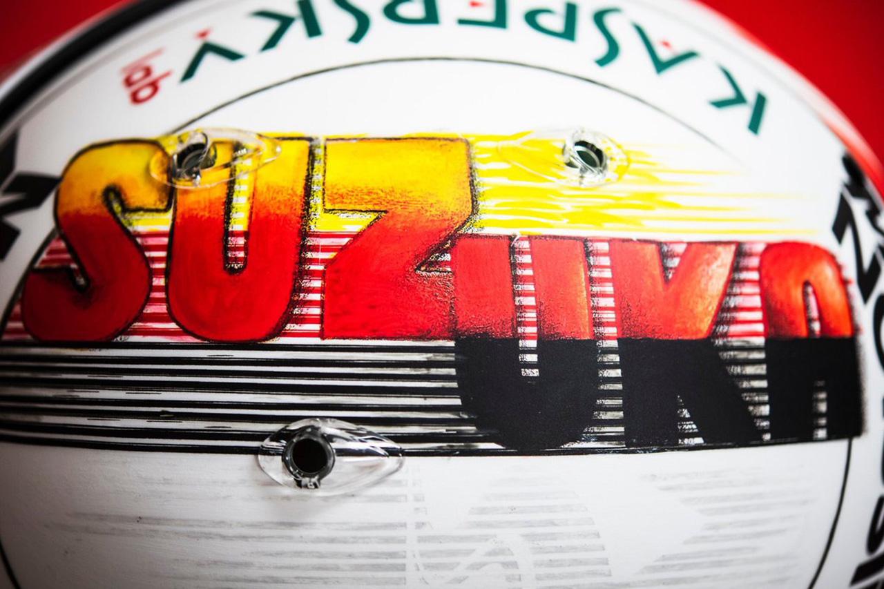セバスチャン・ベッテル 2019年 F1日本GP ヘルメット③