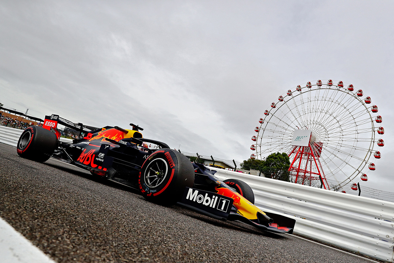 2019年 F1日本GP 金曜フリー走行