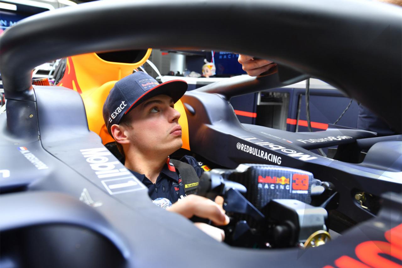 マックス・フェルスタッペン「鈴鹿でメルセデスを倒せるとは思っていない」 / レッドブル・ホンダ F1日本GP