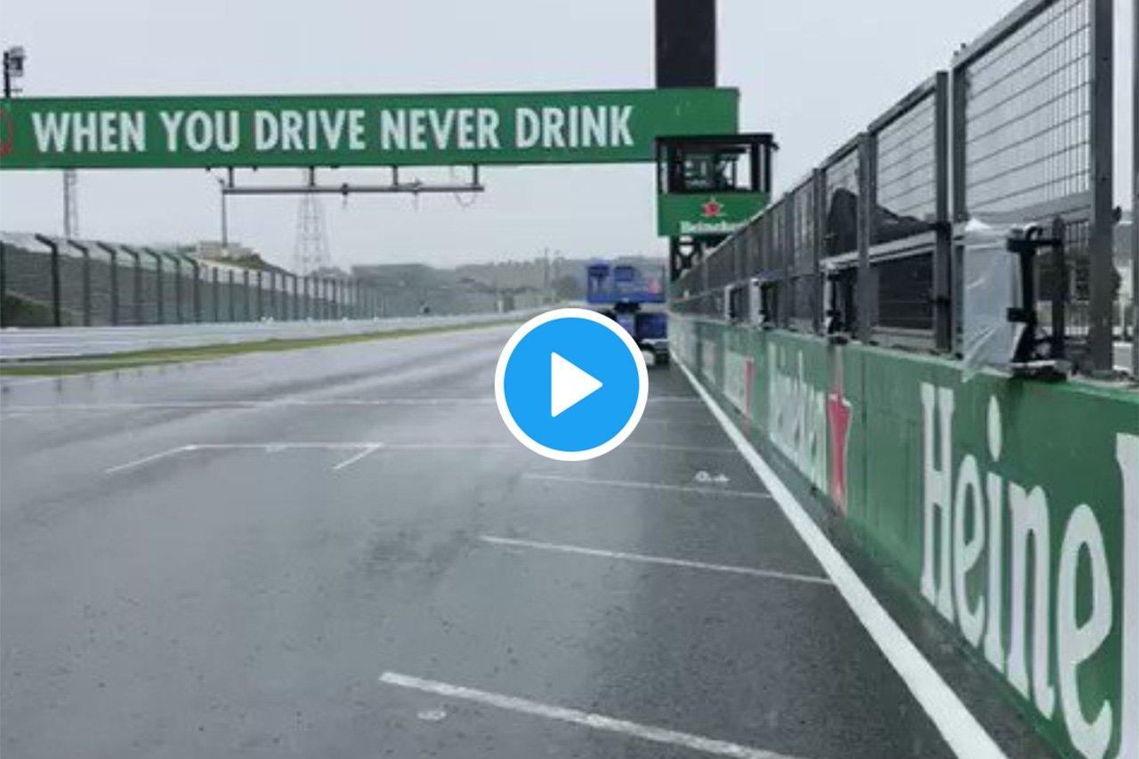 マルク・ジェネ、土曜日の鈴鹿の動画を公開 「中止は正しい決断」 / F1日本GP
