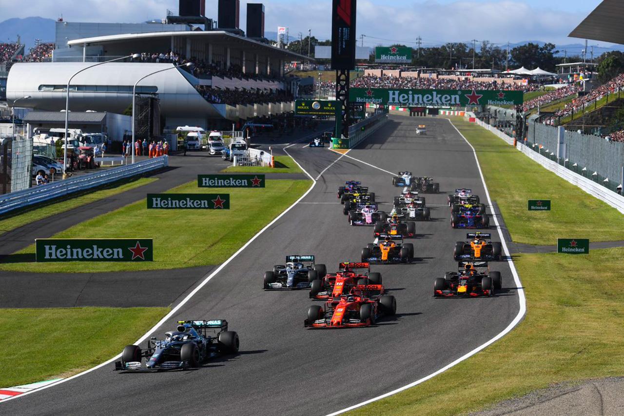 F1日本GP 決勝 結果