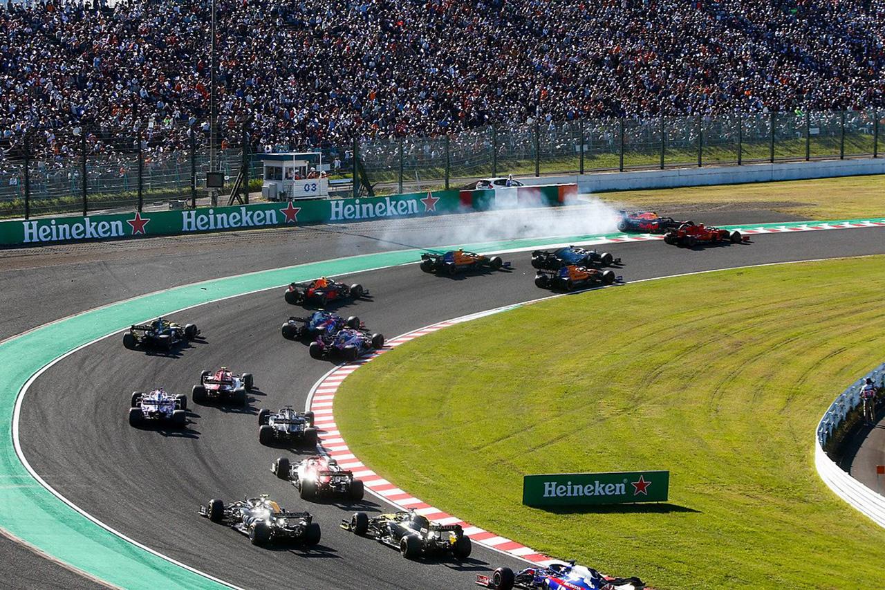 【速報】 F1日本GP 決勝 結果:ボッタスが優勝、アルボンが4位入賞