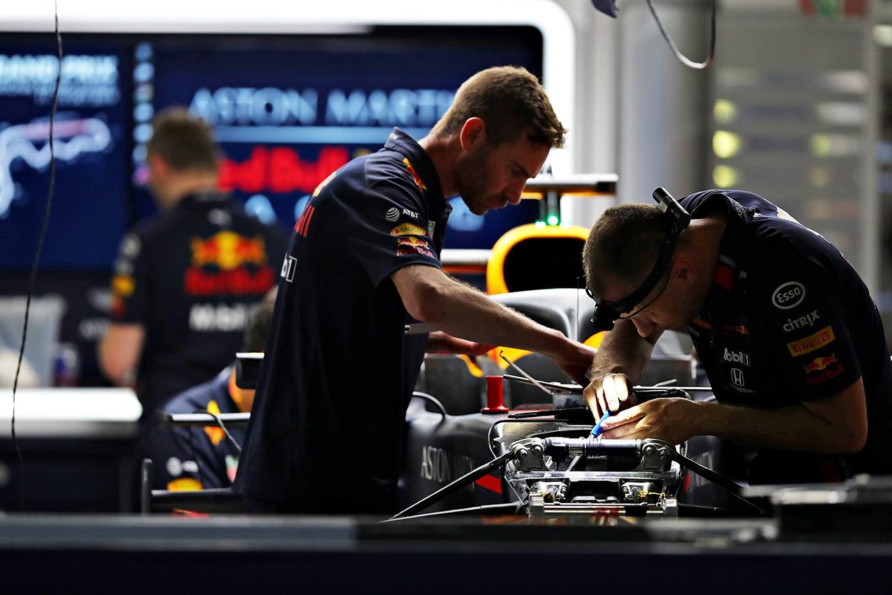 レッドブル・ホンダ 「まだ改善すべき点がある」 / F1日本GP 金曜フリー走行