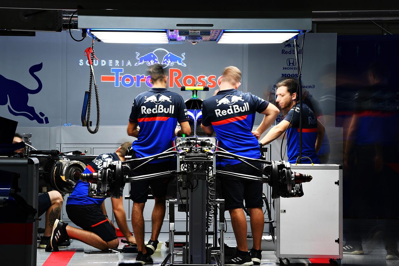 トロロッソ・ホンダ 「もう少しパフォーマンスを期待していた」 / F1日本GP 金曜フリー走行