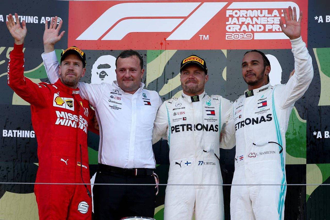 2019年 F1日本GP 決勝