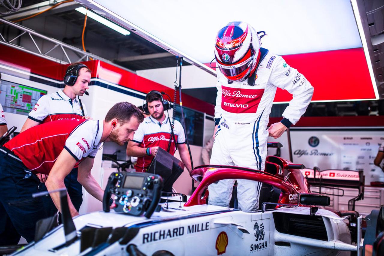 キミ・ライコネン、14位 「期待外れ。最後のタイヤでのマシンは良かった」 / F1日本GP 決勝