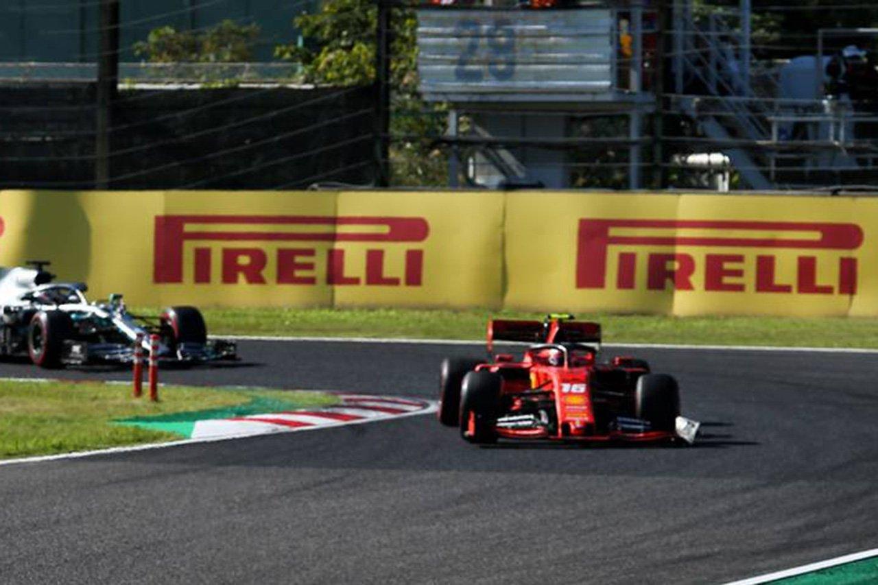 マクラーレン、破損したウイングのルクレールを続行させたフェラーリを非難 / F1日本GP 決勝