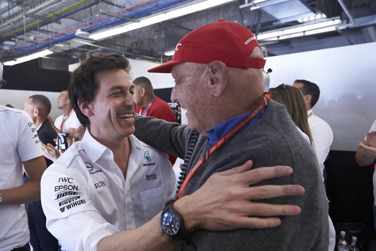 メルセデスF1代表 「この6回目のタイトルはニキ・ラウダに捧げる」