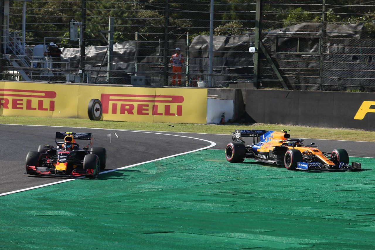 ランド・ノリス、アルボンと接触も責めず 「フェアプレーだった」 / F1日本GP 決勝