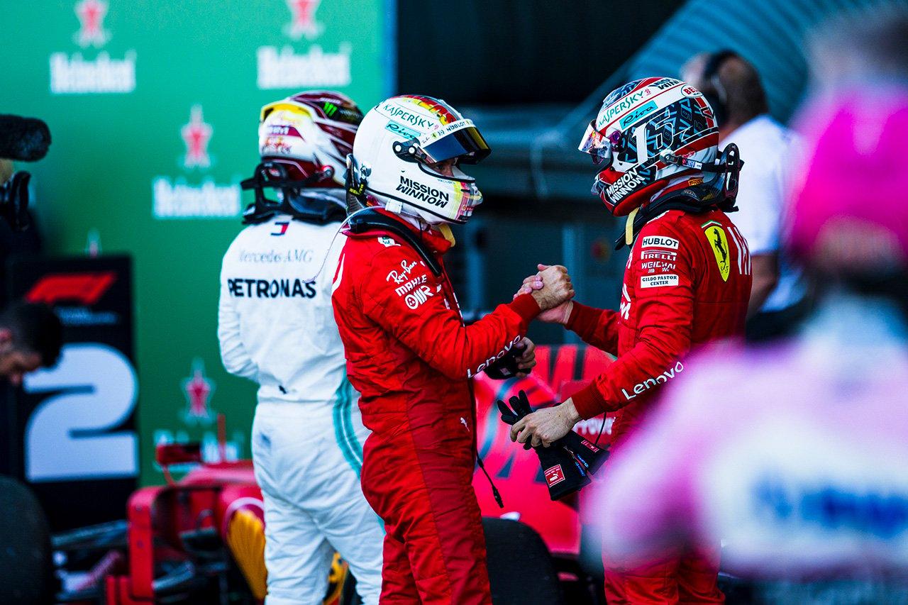 フェラーリ、タイトル6連覇のメルセデスを祝福 / F1日本GP