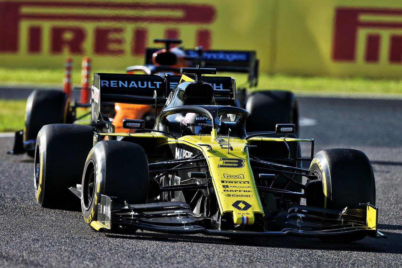 ルノーF1チーム:2019年 F1日本GP 決勝レポート
