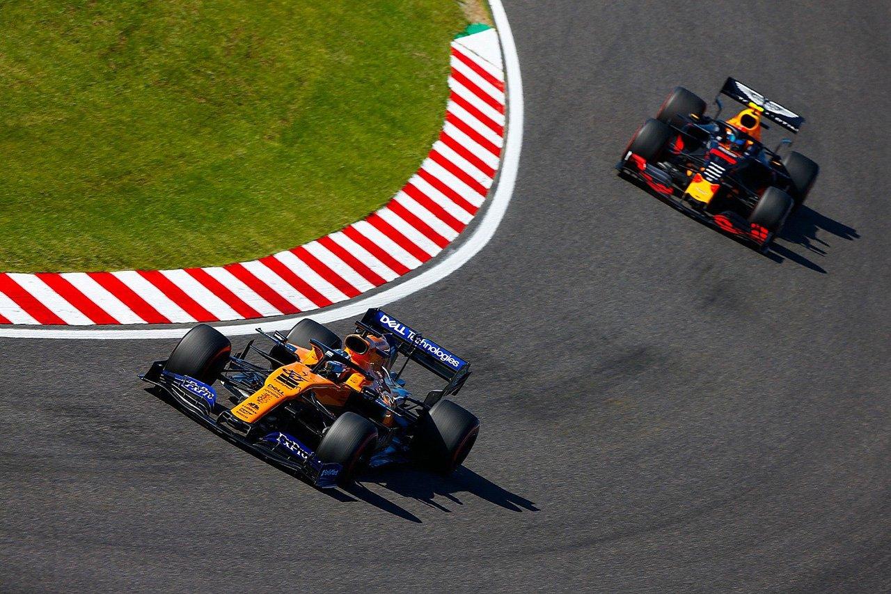カルロス・サインツ 「フェラーリを抑えての5位は勝利のような気分」
