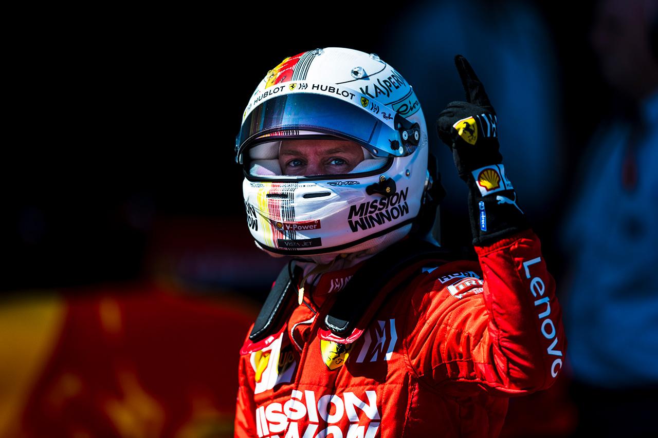 F1 セバスチャン・ベッテル、フェラーリの最新アップグレードでスランプ脱出