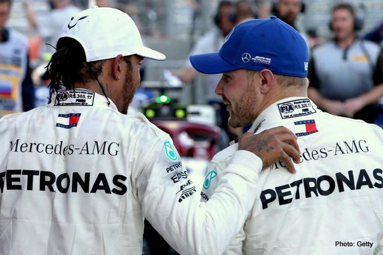 ルイス・ハミルトン 「メルセデスのドライバーペアはF1でベスト」