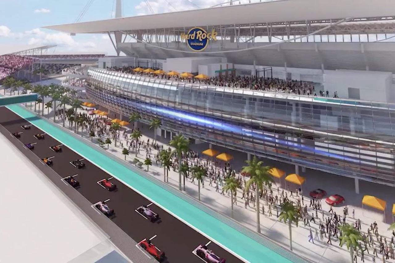 F1マイアミGP、2021年にハードロック・スタジアムでの開催に合意