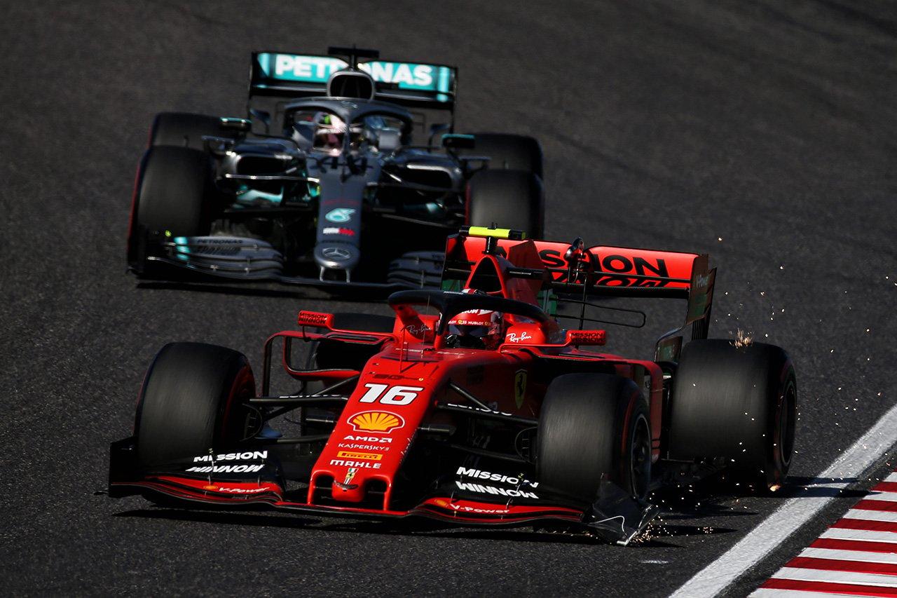 ハッキネン、ウイング破損のルクレールを続行させたフェラーリを批判 / F1日本GP