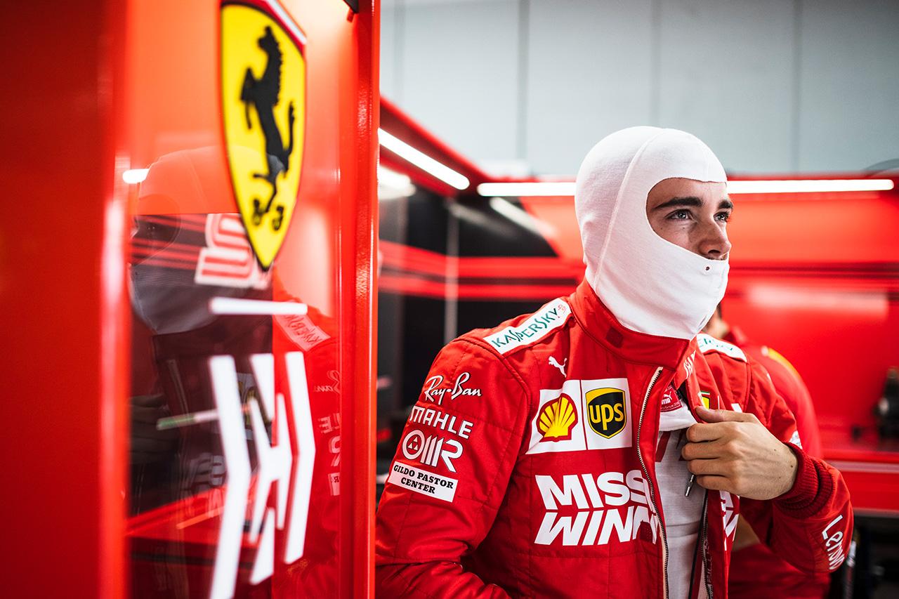 シャルル・ルクレール 「メキシコは僕にとってまだ新しいサーキット」 / フェラーリ F1メキシコGP プレビュー