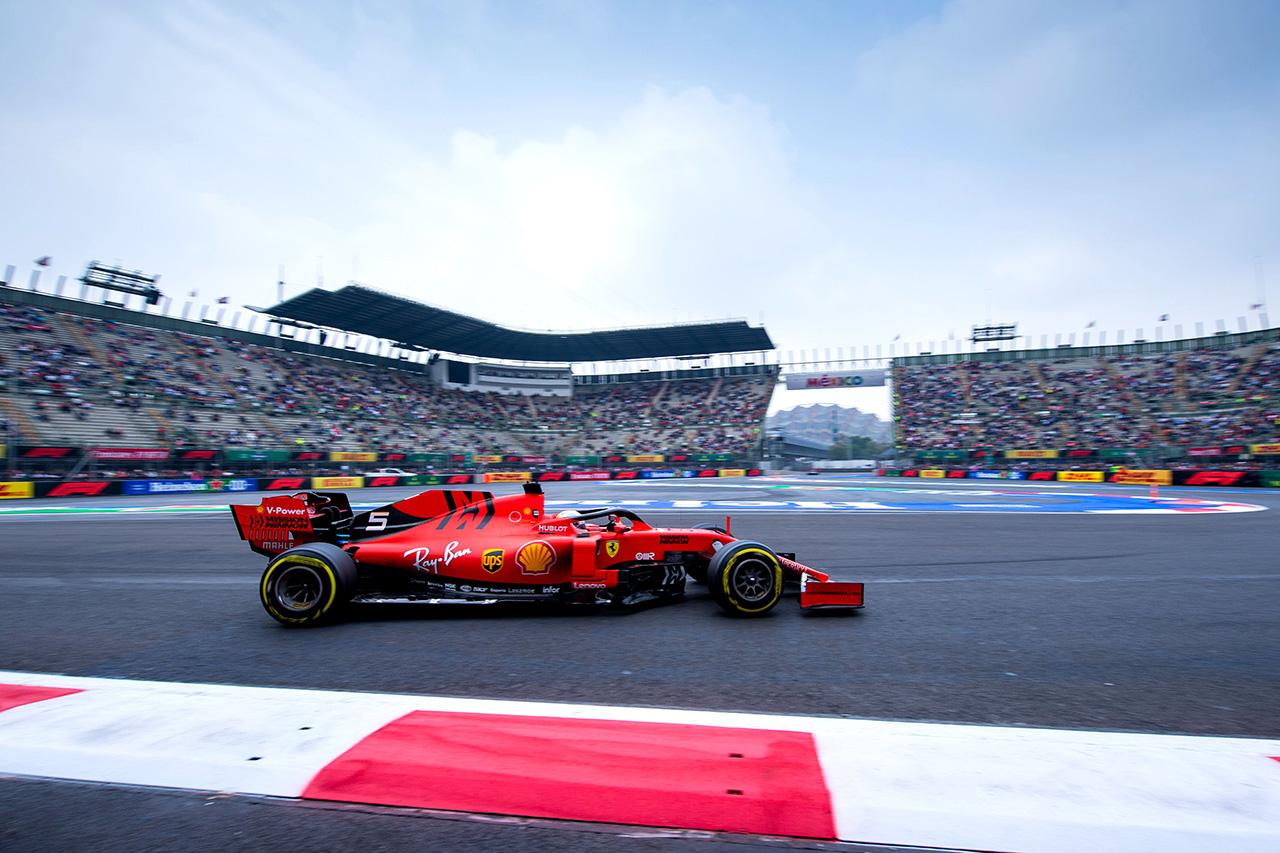 F1メキシコGP 金曜フリー走行