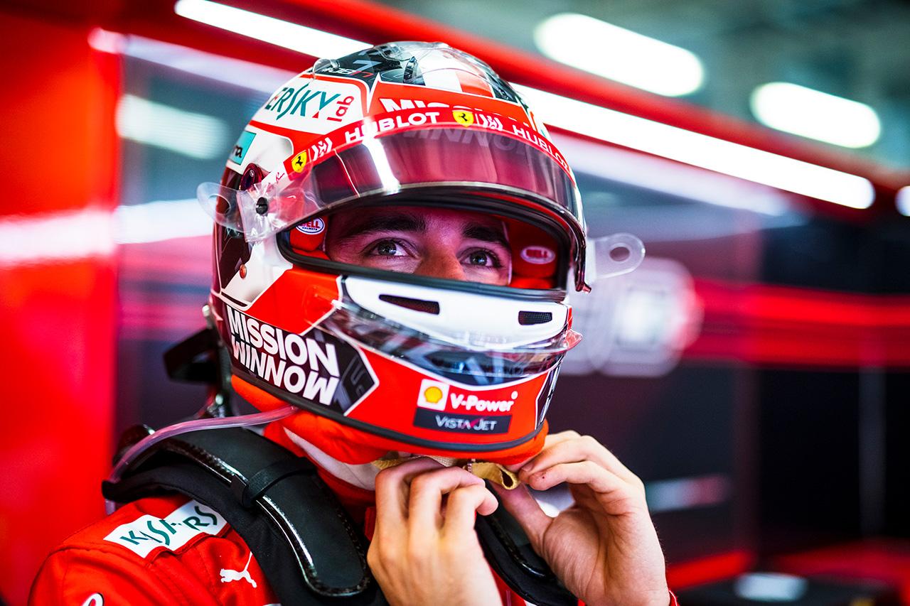 シャルル・ルクレール、競争力に自信 「予選で上位を獲得することが重要」 / フェラーリ F1メキシコGP 初日