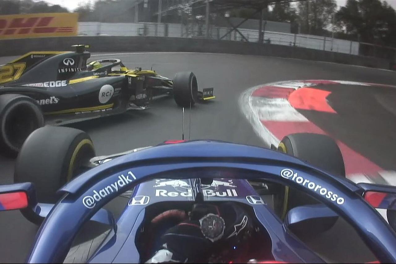 ダニール・クビアト、10秒加算ペナルティで11位に降格 / F1メキシコGP