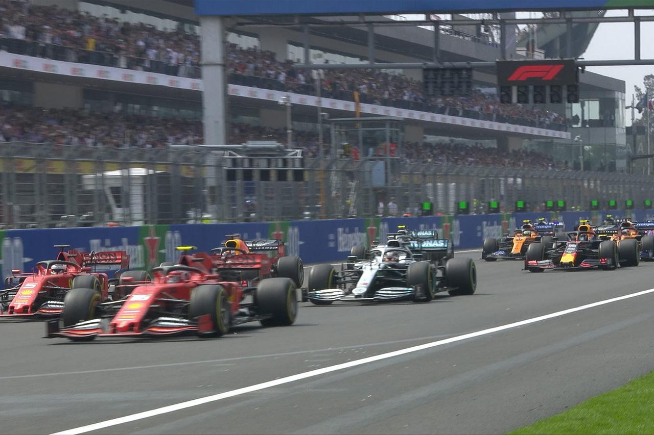 【動画】 F1メキシコGP 決勝 スタート&オープニングラップ