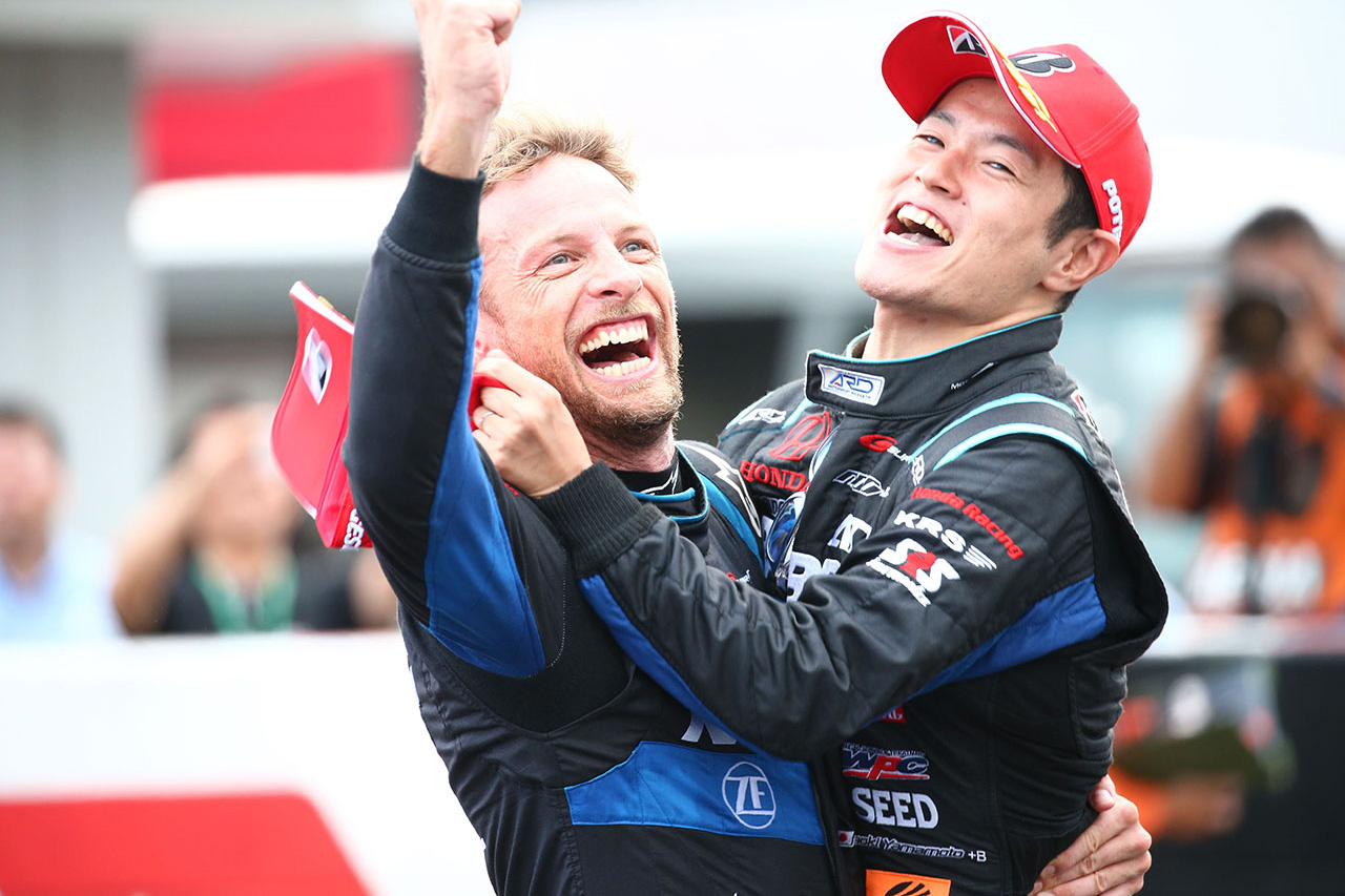 ジェンソン・バトン、今シーズン限りでのSUPER GT参戦終了を発表