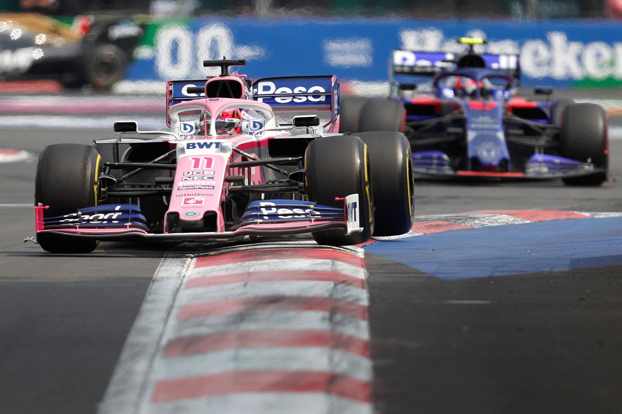 レーシングポイト、トロロッソ・ホンダと同点に並ぶ / F1メキシコGP