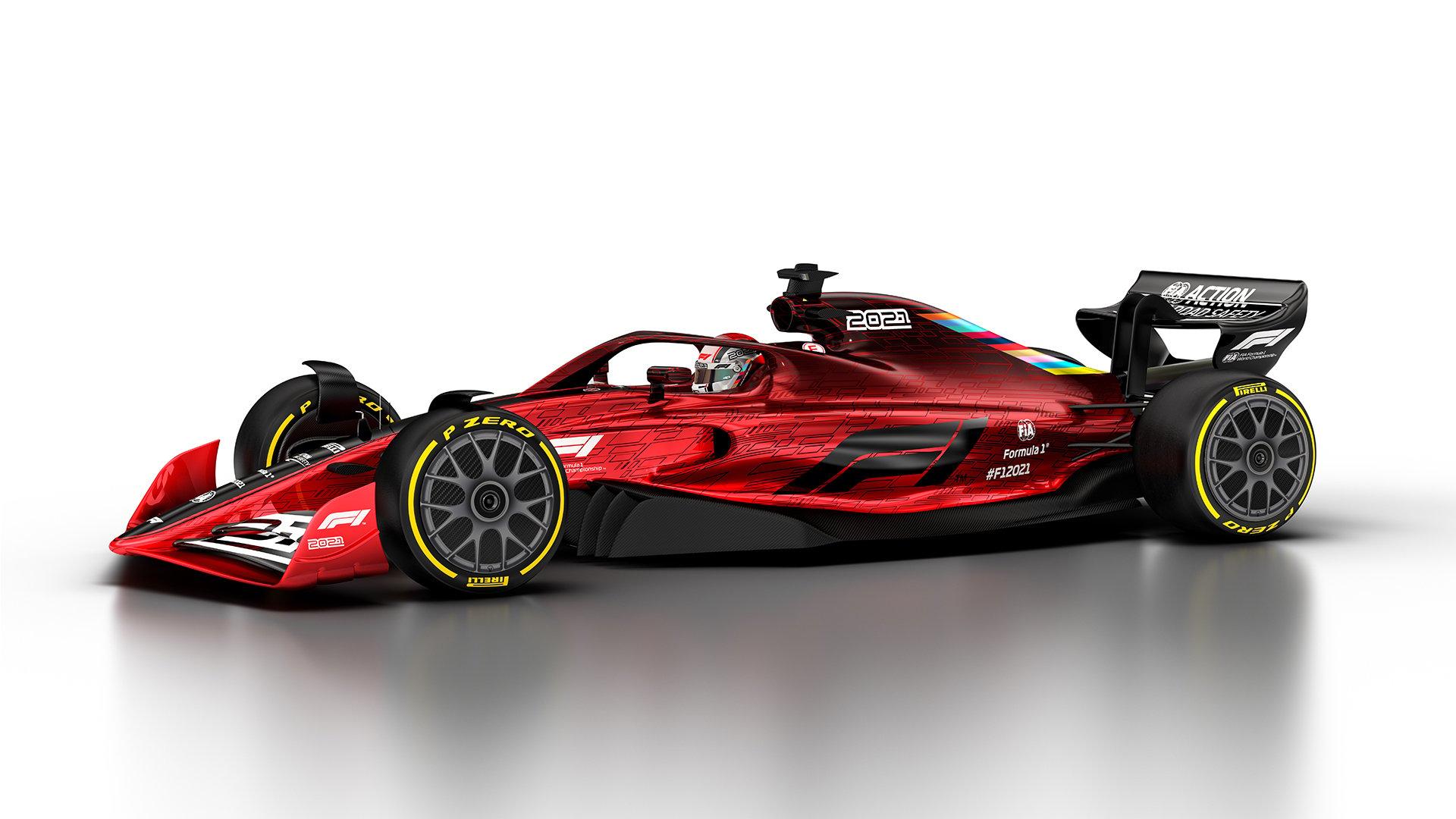 2021年F1マシン ②