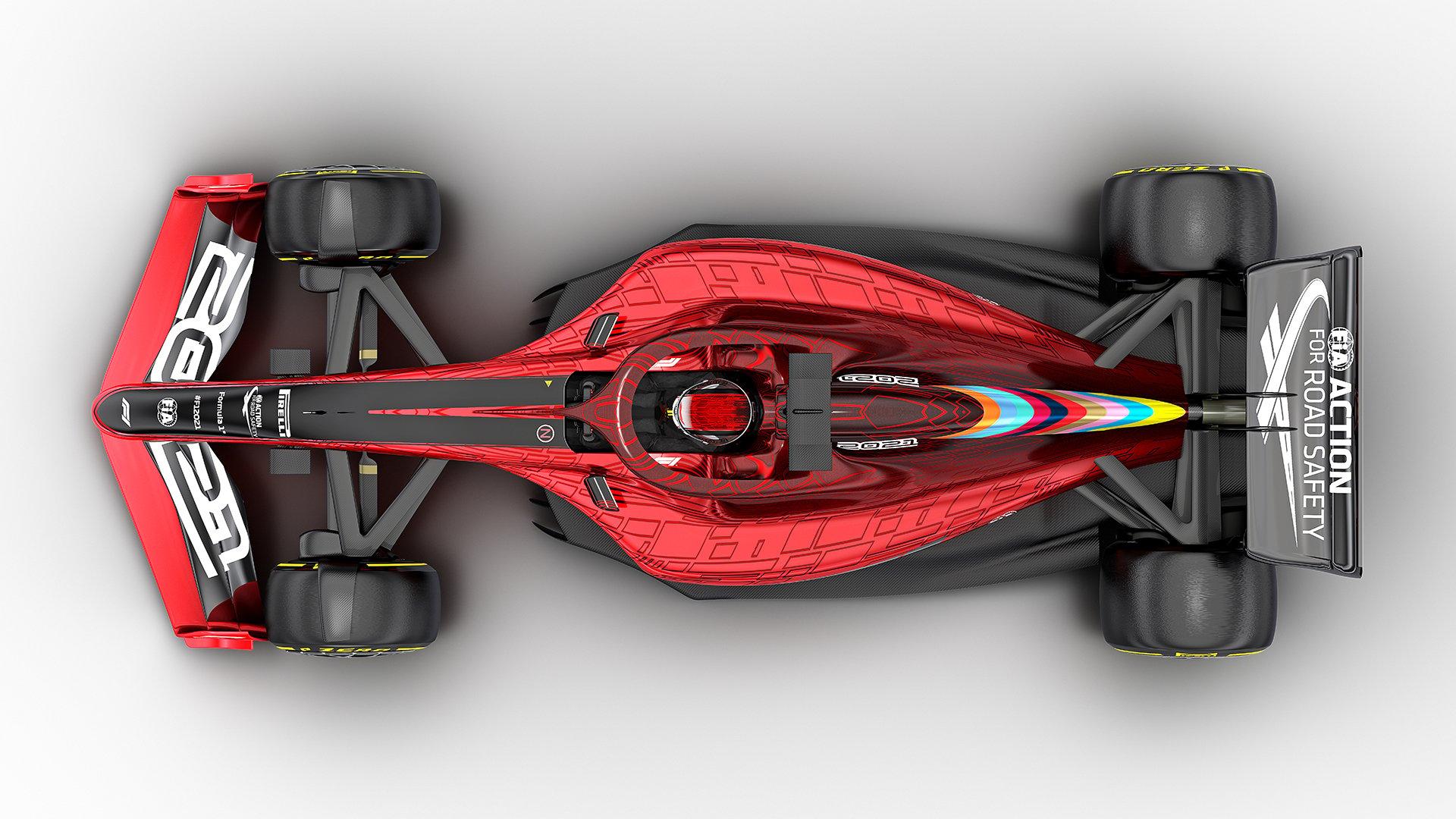 2021年F1マシン ⑤