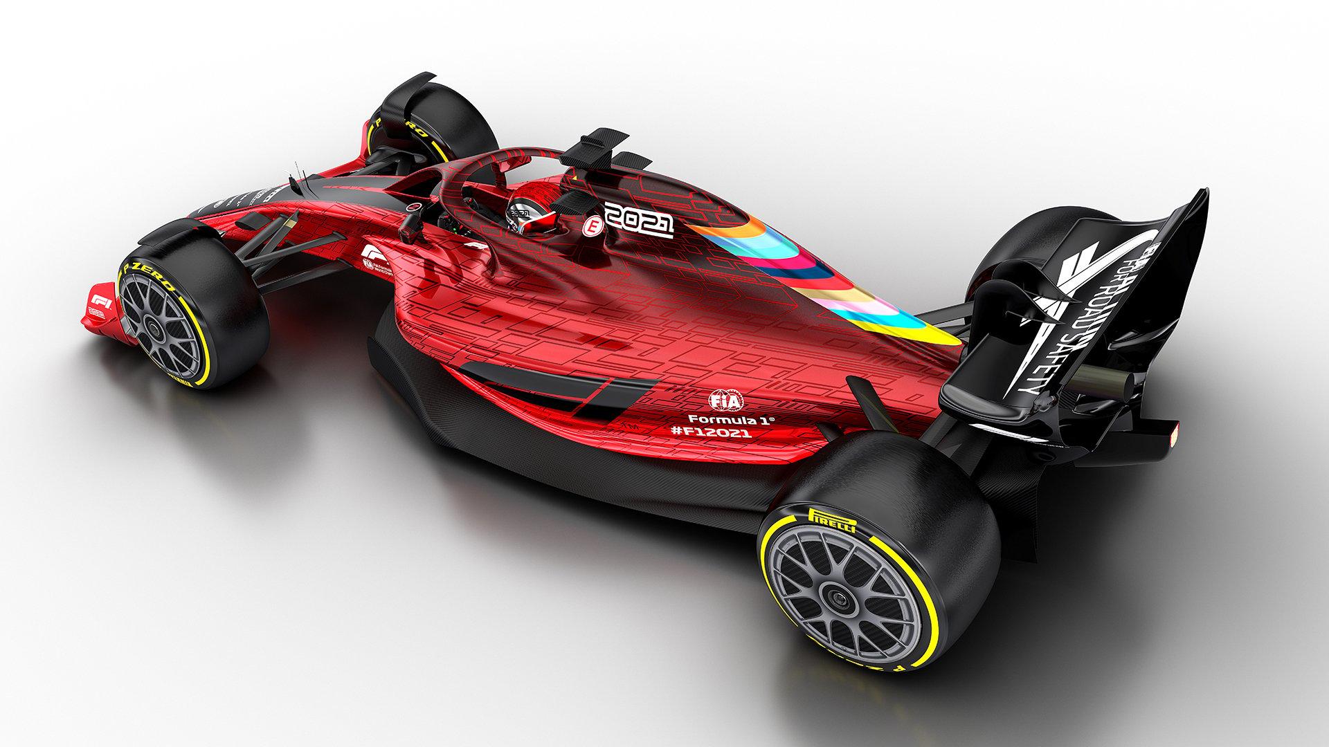 2021年F1マシン ⑧